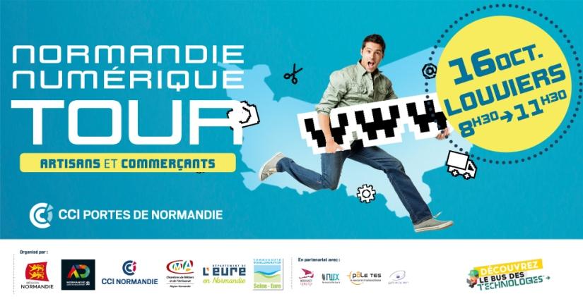 Présence de #Rapidle au Normandie NumériqueTour