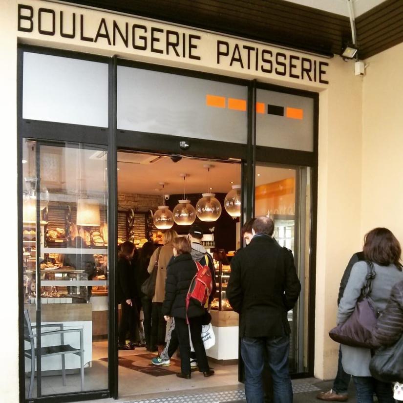 Le journal du centre : Boulangerie, Applicationcoupe-file